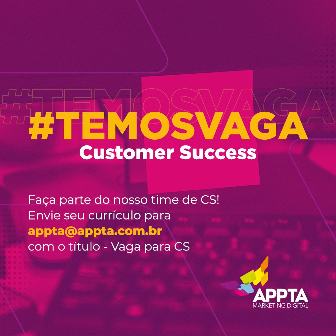 vaga-customer-success-appta